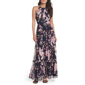 d7b5b9053fb7c Women s Eliza J Floral Print Halter Maxi Dress on Poshmark